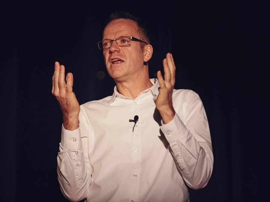 Michael Habighorst auf der Bühne III